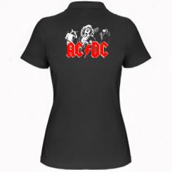 Купити Жіноча футболка поло AC DC