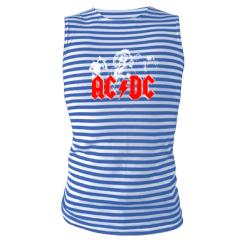 Купити Майка-тільняшка AC DC
