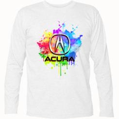 Футболка з довгим рукавом Acura Art