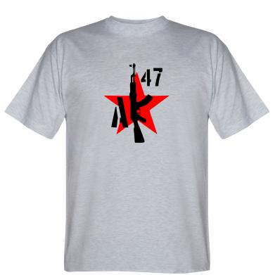 Футболка AK 47 star