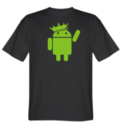 Футболка Android King