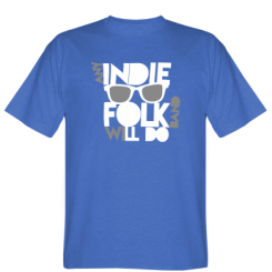 Футболка Any indie folk