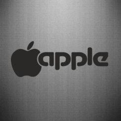 Наклейка Apple Inc