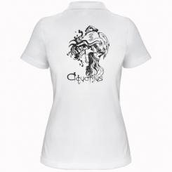 Купити Жіноча футболка поло Aquarius (Водолій)