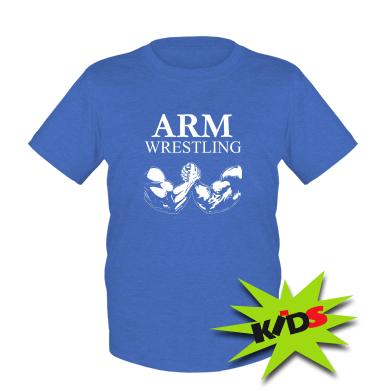 Дитяча футболка Arm Wrestling