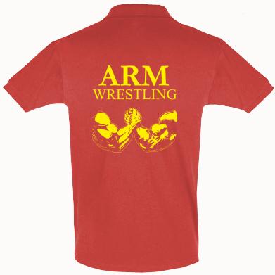 Футболка Поло Arm Wrestling