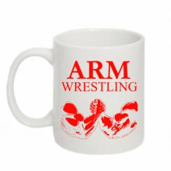 Кружка 320ml Arm Wrestling