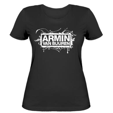 Жіноча футболка Armin Van Buuren