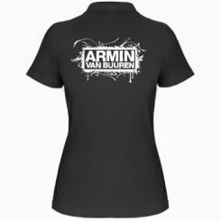 Жіноча футболка поло Armin Van Buuren
