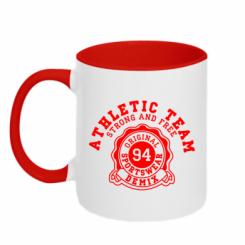 Кружка двокольорова Athletic Team