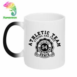 Кружка-хамелеон Athletic Team