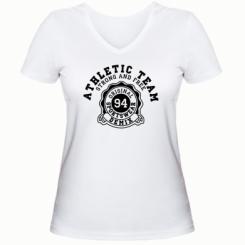 Жіноча футболка з V-подібним вирізом Athletic Team