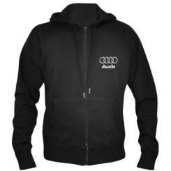 Чоловіча толстовка на блискавці Audi Великий