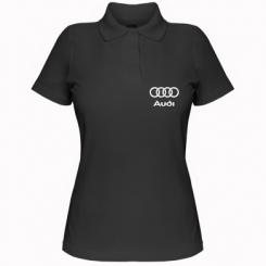 Купити Жіноча футболка поло Audi