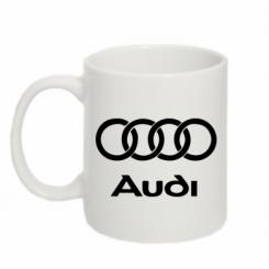 Купити Кружка 320ml Audi