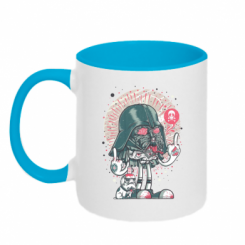 Кружка двокольорова Bad Vader