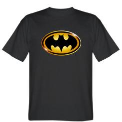 Футболка Batman logo Gold