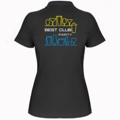 Купити Жіноча футболка поло Best Party Club