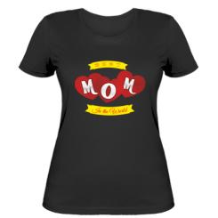 Жіноча футболка Best Mom in the world!