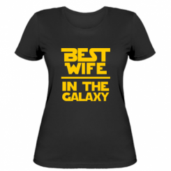 Жіноча футболка Best wife in the Galaxy