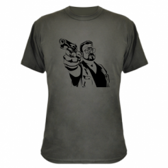 Камуфляжна футболка Big Lebowski
