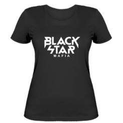 Жіноча футболка Black Star Mafia