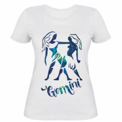 Жіноча футболка Близнюки зірки