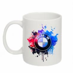 Кружка 320ml BMW logo art 2