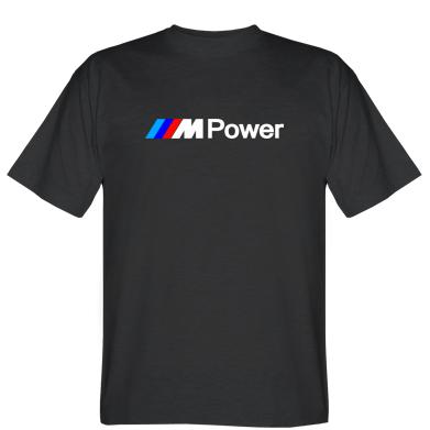 Футболка BMW M Power logo