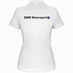Жіноча футболка поло BMW Motorsport