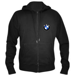 Чоловіча толстовка на блискавці BMW
