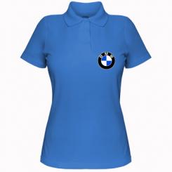 Купити Жіноча футболка поло BMW