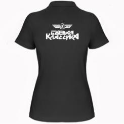 Купити Жіноча футболка поло Бойова класика
