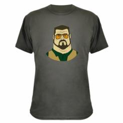 Камуфляжна футболка Великий Лебовські