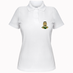 Жіноча футболка поло Великий Лебовські