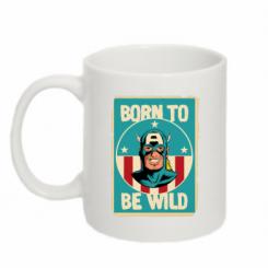 Кружка 320ml Born to be Wild