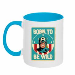 Кружка двокольорова Born to be Wild