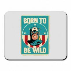 Килимок для миші Born to be Wild