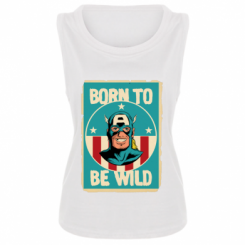 Майка жіноча Born to be Wild