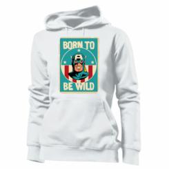 Толстовка жіноча Born to be Wild