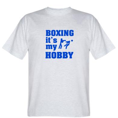 Футболка Boxing is my hobby
