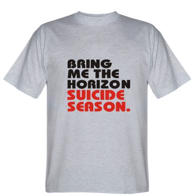 Футболка Bring me the horizon suicide season.