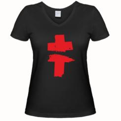 Купити Жіноча футболка з V-подібним вирізом Brutto