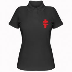 Жіноча футболка поло Brutto