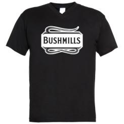 Чоловічі футболки з V-подібним вирізом Bushmills