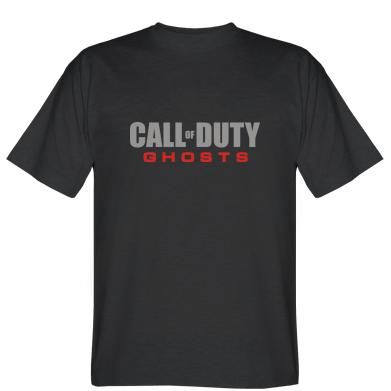 Футболка Call of Duty Ghosts логотип