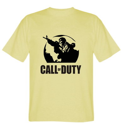 Футболка Call of Duty логотип