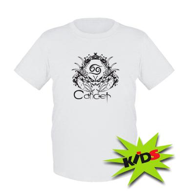 Купити Дитяча футболка Cancer (Рак)