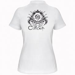 Купити Жіноча футболка поло Cancer (Рак)