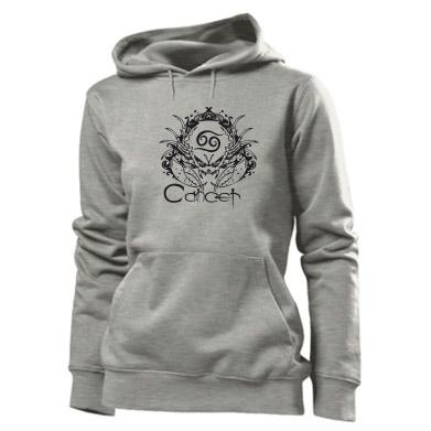 Купити Толстовка жіноча Cancer (Рак)